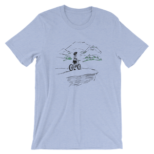 Bike Hike Men's and Women's T-Shirt