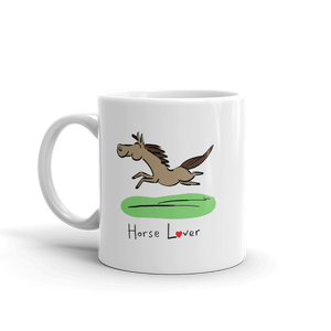 Horse Pony Miniature Horse coffee mug tasa caballo tazza cavallo tasse cheval
