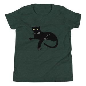 Black Panther Youth Short Sleeve T-Shirt