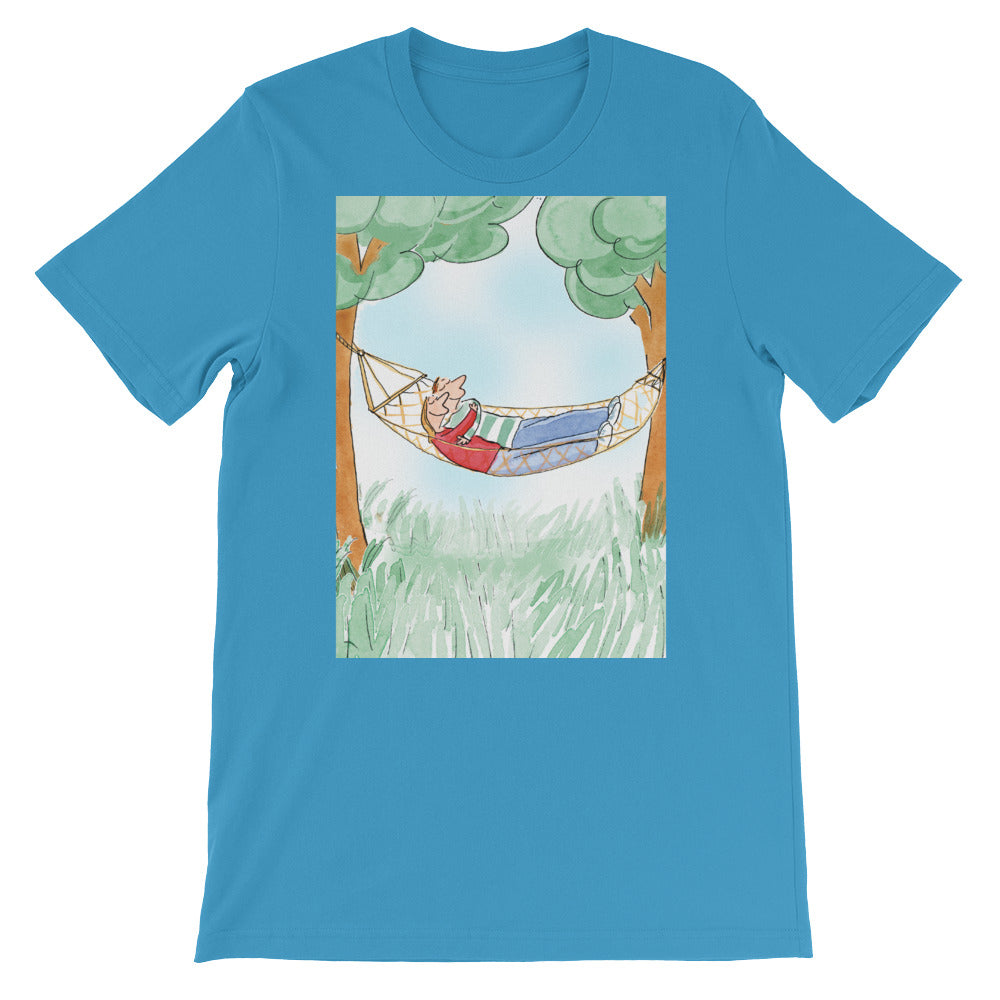 In Love on the Hammock Men's and Women's T-Shirt