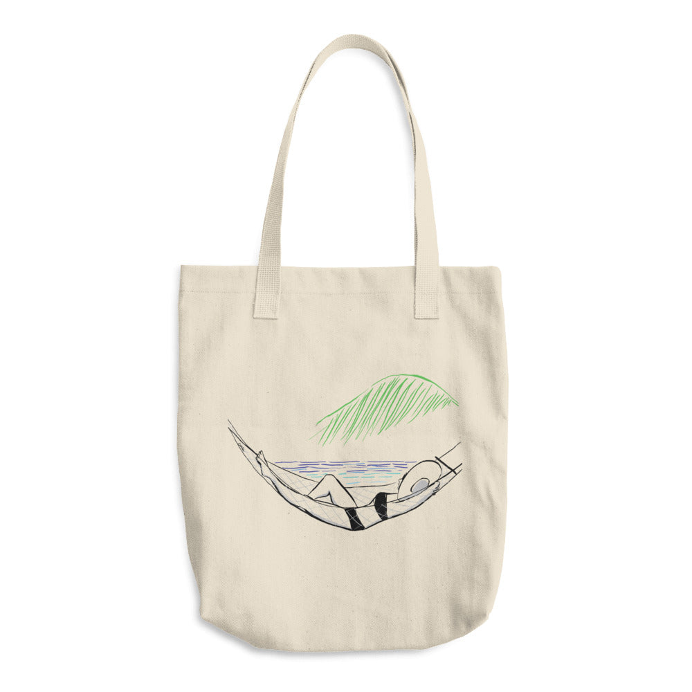 Beachside Hammock Tote Bag