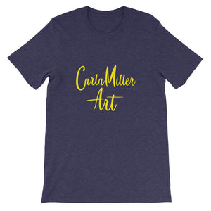 Carla Miller Art Logo Short-Sleeve Men's and Women's T-Shirt