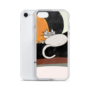 Kitty In Charge iPhone Case