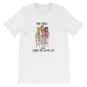 Bad Girls Sipping Together Unisex T-Shirt