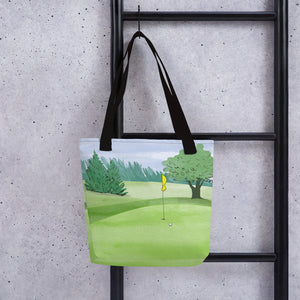 Golf Course Tote bag