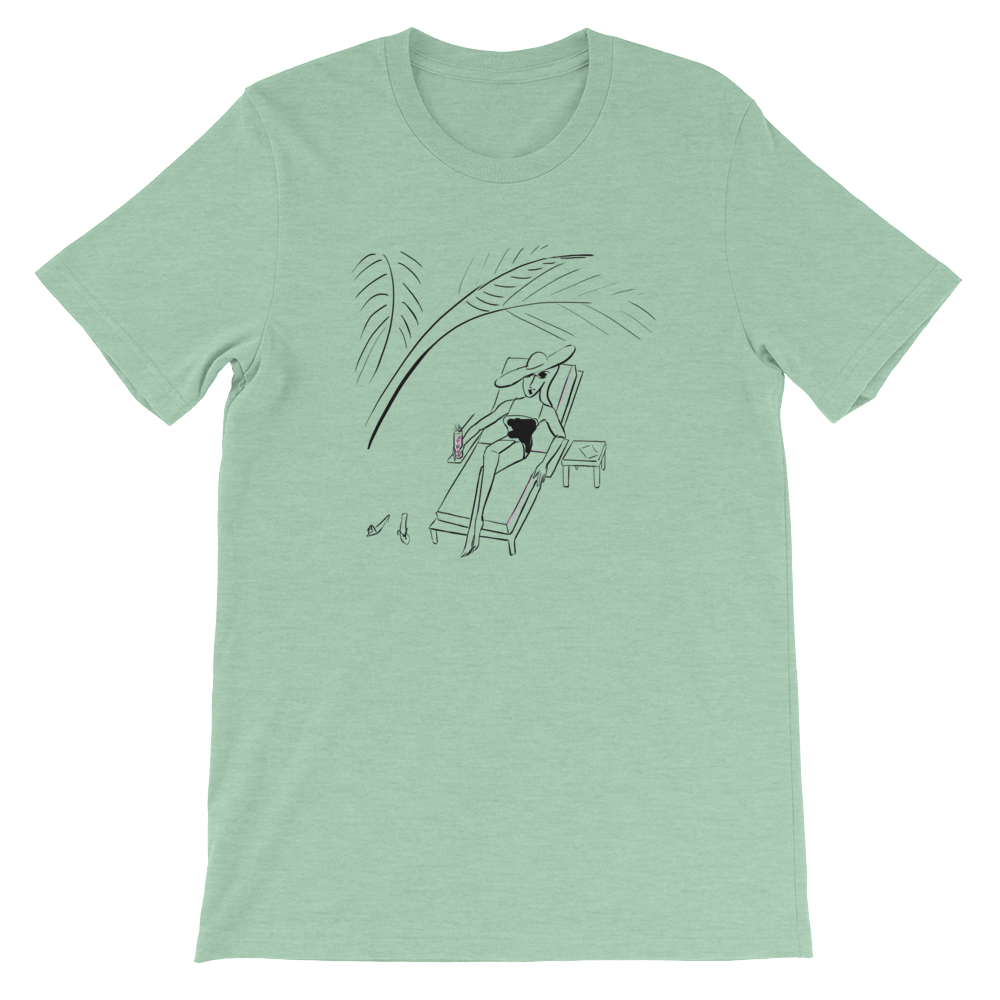 Under the Palm Leaves T-Shirt