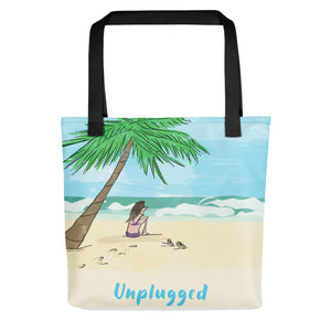 Unplugged in Paradise Tote Bag