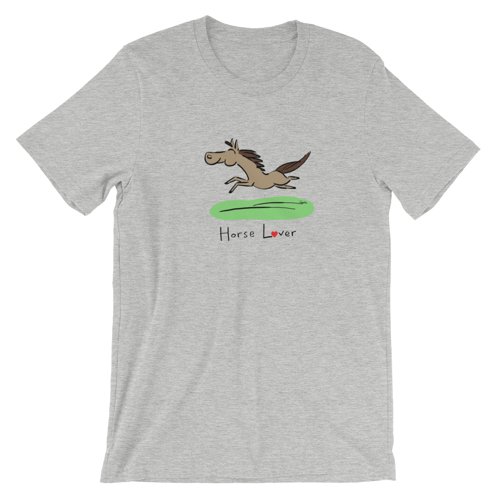 Horse Lover Short-Sleeve Unisex T-Shirt