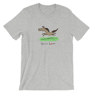 Horse Lover Short-Sleeve Men's and Women's T-Shirt
