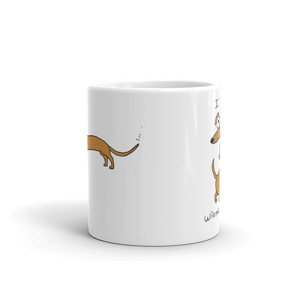 I Love Wiener Dogs Coffee Mug