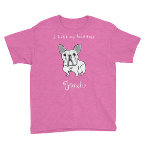 French Bulldog Kids' Short Sleeve T-Shirt