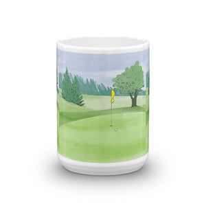 Golf Course Coffee Mug
