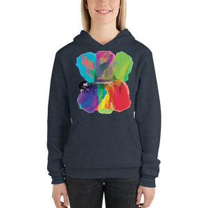 Colors of Music Classical Piano Super Soft Hoodie