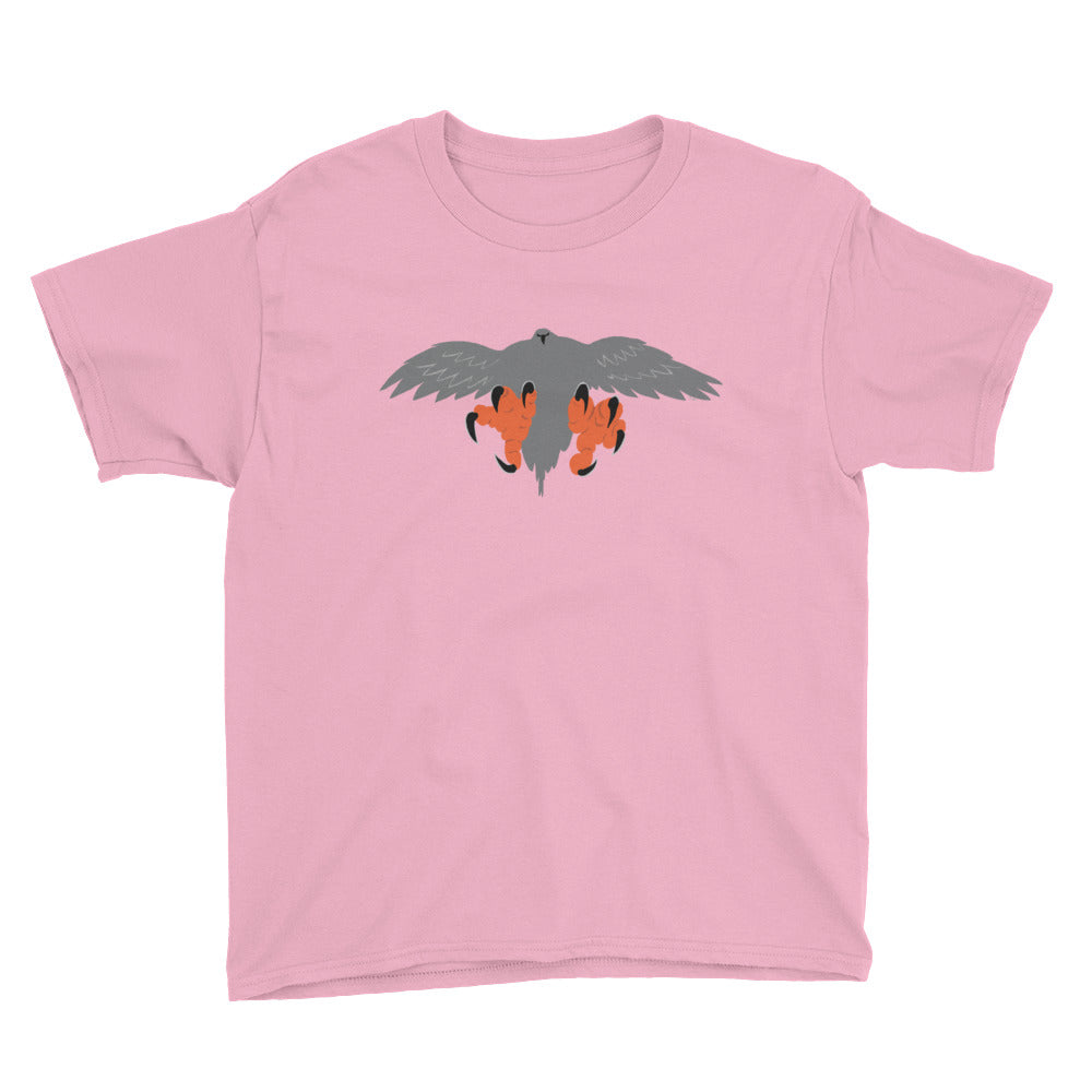 Kid's Falconry/Hawk Landing Short Sleeve T-Shirt