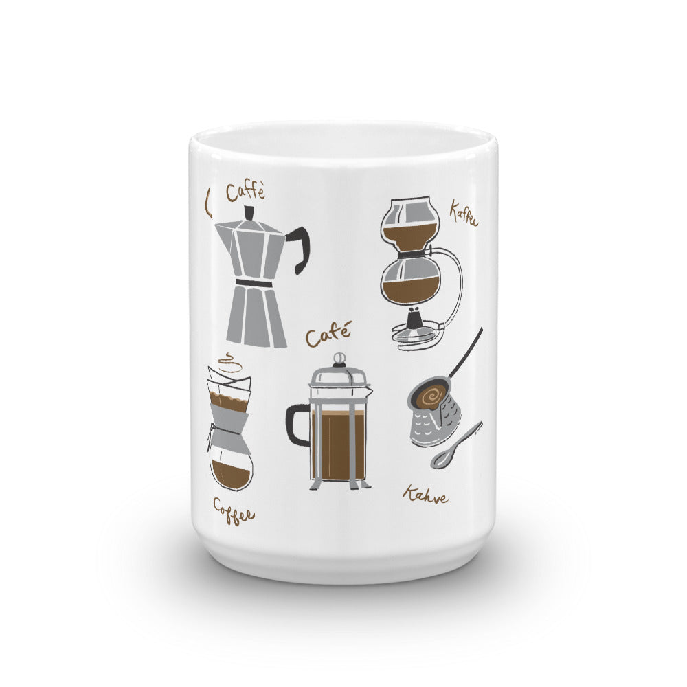 Coffees of the World Coffee Mug