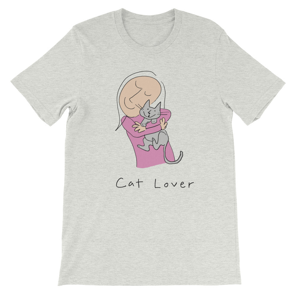 Cat Lover Short-Sleeve Men's and Women's T-Shirt