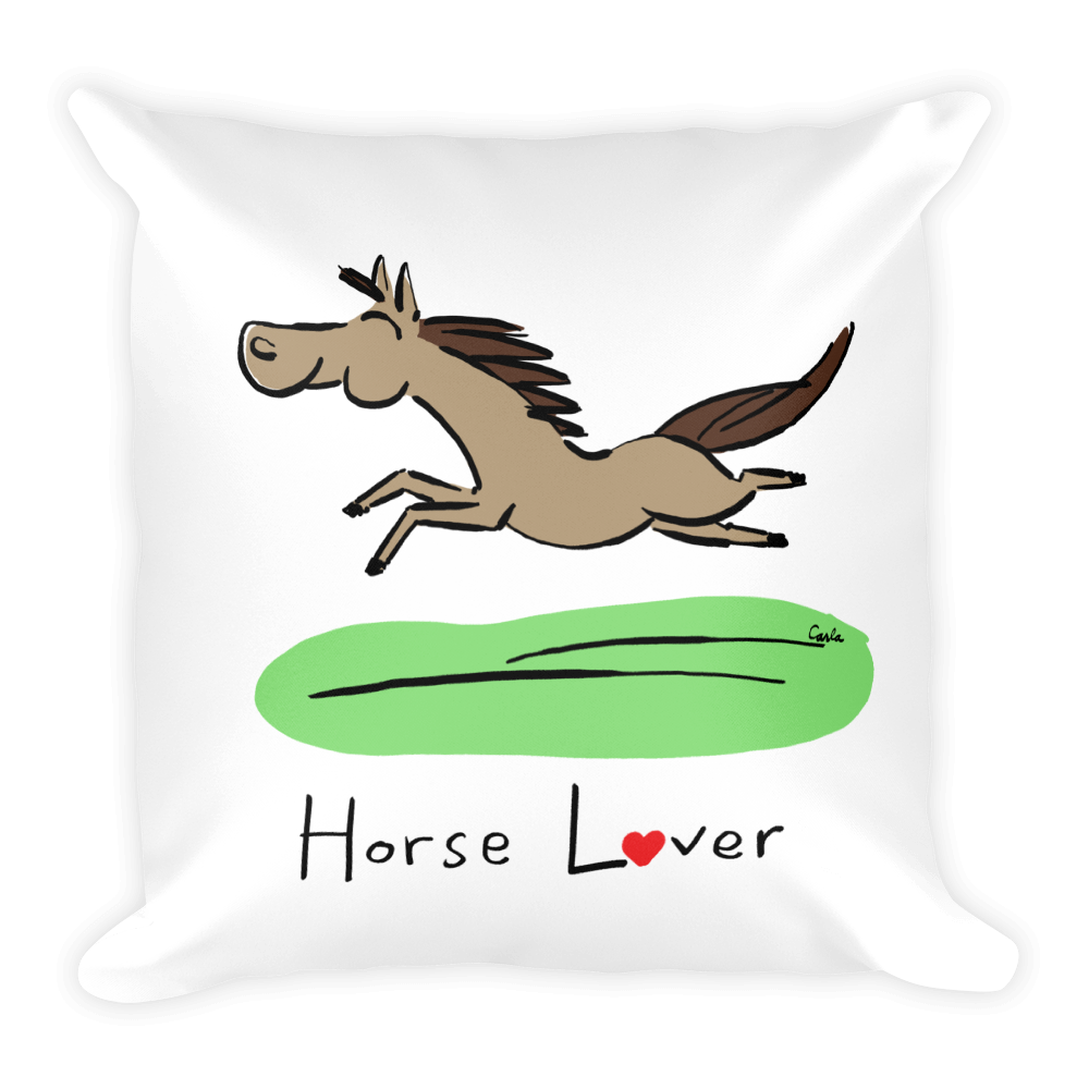 Horse Lover Pillow