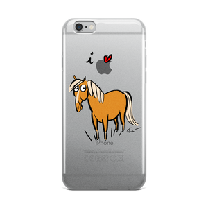 I Love Horses iPhone Case