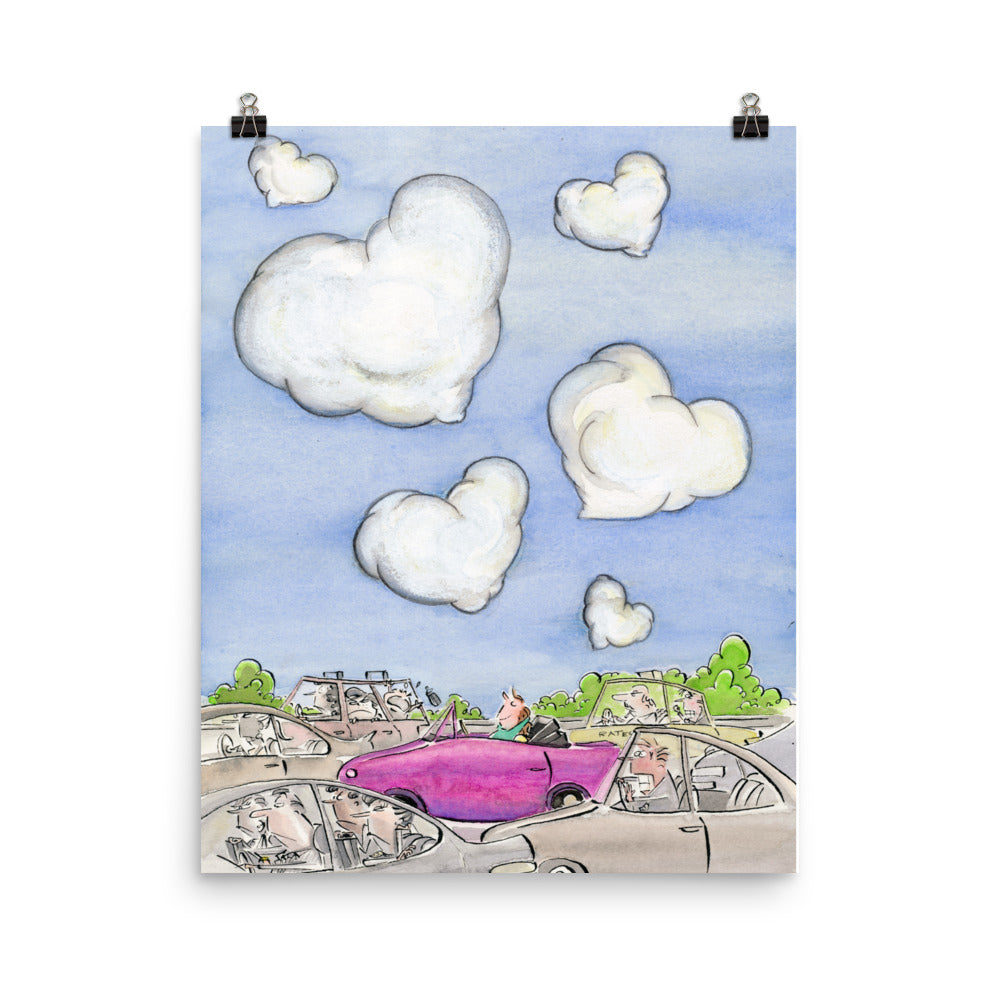 Heart in the Clouds Poster