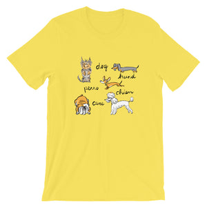 Dogs of the World Men's and Women's T-Shirt