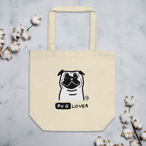 Pug Lover Eco Tote Bag