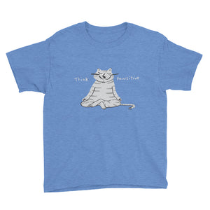 Think Pawsitive Girls' and Boys' Short Sleeve T-Shirt