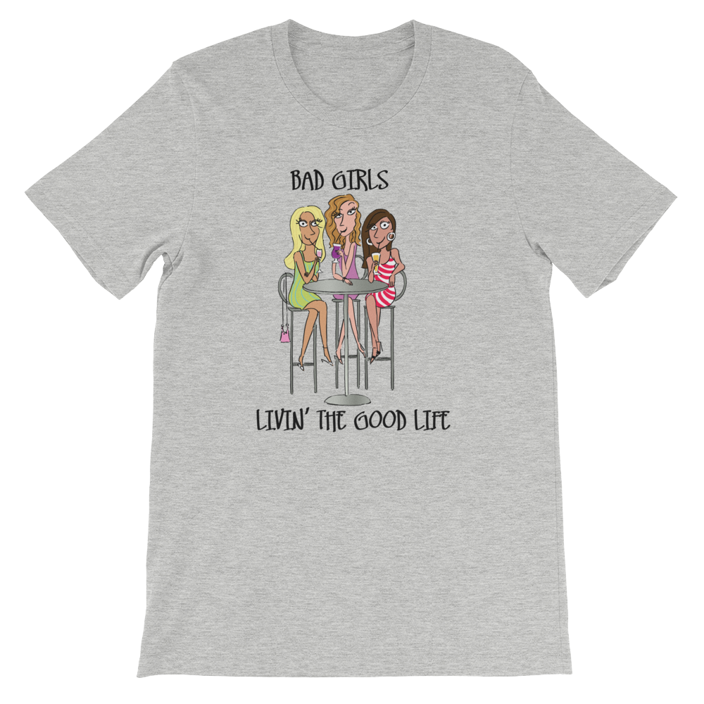 Bad Girls Sipping Together T-Shirt