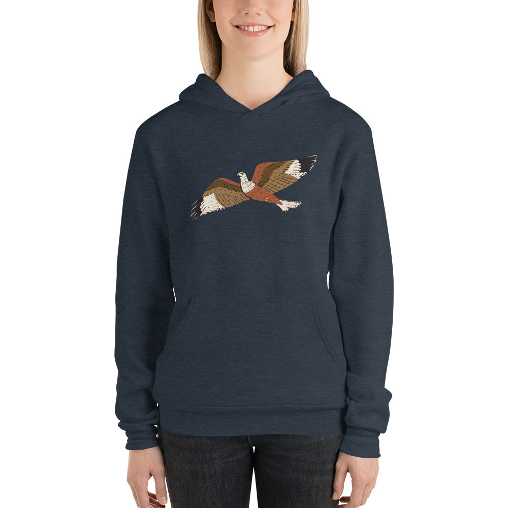 Raptor Women's and Men's Bella and Canvas Hoodie