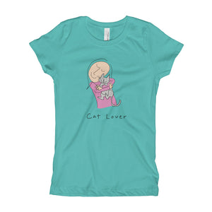 Cat Lover Girl's T-Shirt