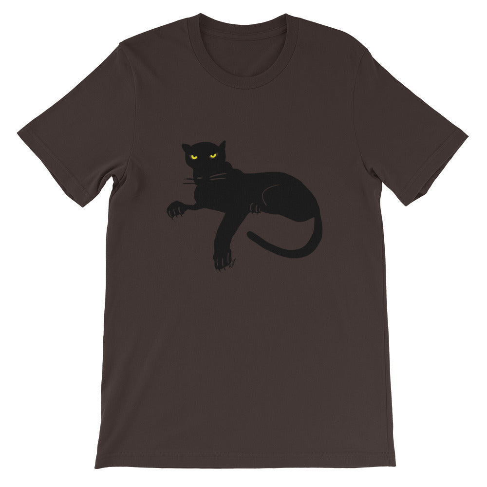 Black Panther Short-Sleeve Men's and Women's T-Shirt