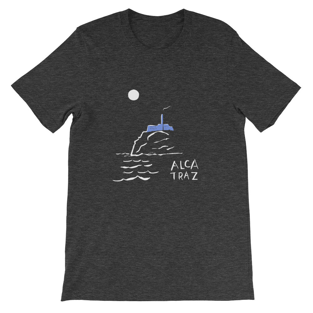 Alcatraz Island Night Tour mens womens t-shirt