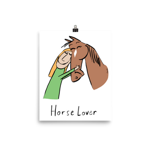 Horse Lover Poster