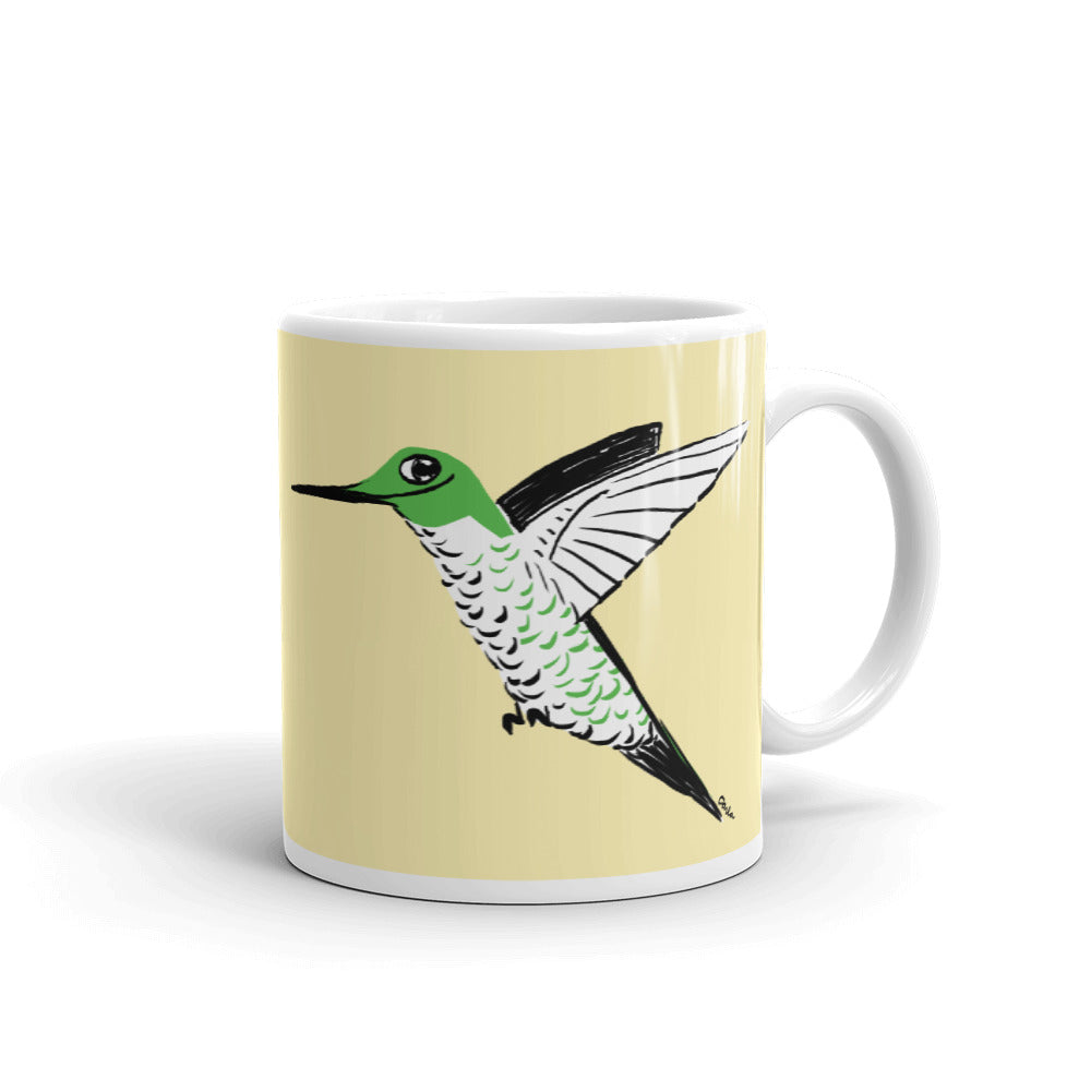 First Hummingbird of Spring Coffee Mug