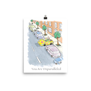 You are Unparalleled Poster