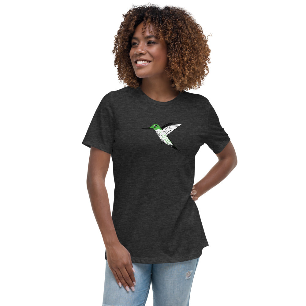 First Hummingbird of Spring Women's Relaxed T-Shirt