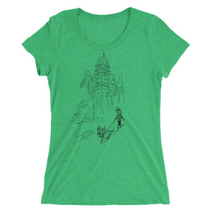 Claremont Doggie Stroll Ladies' short sleeve t-shirt