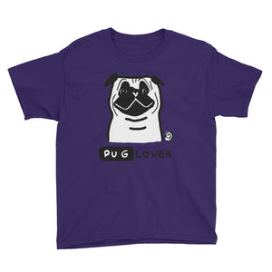 Pug Lover Kids' Short Sleeve T-Shirt