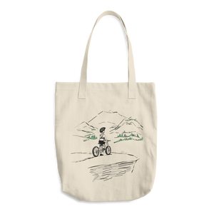 Bike Hike - Cotton Tote Bag