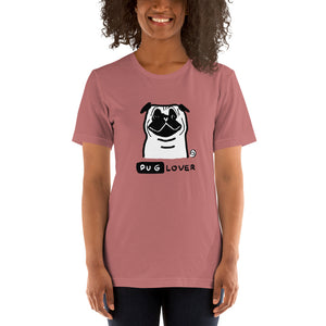 Pug Lover Men's and Women's Short-Sleeve T-Shirt