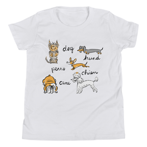 Dogs of the World Youth T-Shirt