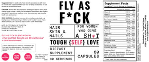 Fly as F*ck Hair, Skin, and Nails Blend