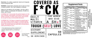 Covered as F*ck Women's Ultra Daily Vitamin