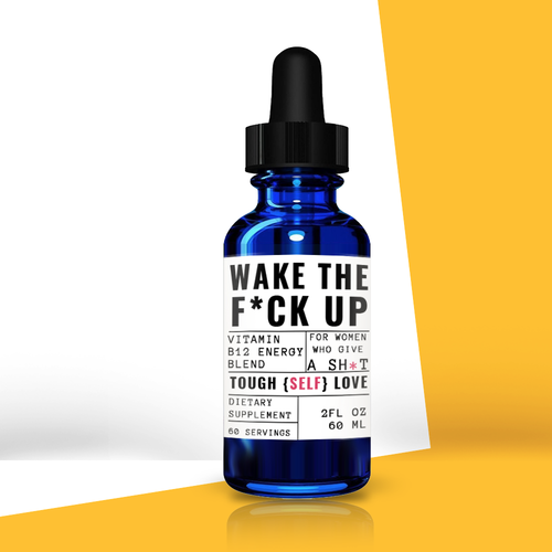 Wake the F*ck Up Vitamin B12 Energy Drops