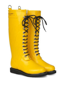 Welintons Uchel Melyn | Yellow Tall Wellingtons