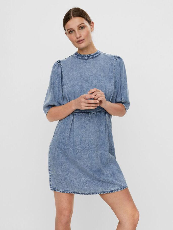 Ffrog Ddenim | Denim Dress