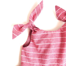 Load image into Gallery viewer, The Emily Tie Shoulder Dress in Cotton - Fauves Kids