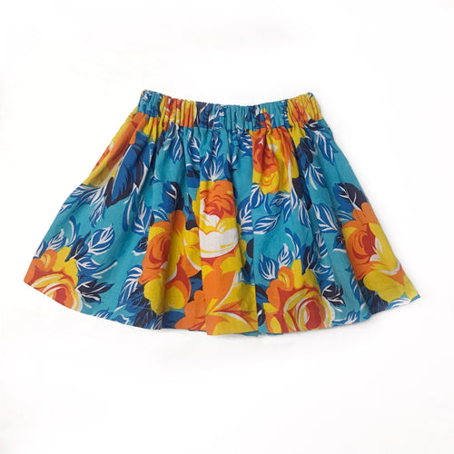 Upcycled Vintage Skirt - Fauves Kids