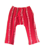 Load image into Gallery viewer, Girs Harem Pants In Red - Fauves Kids