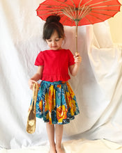 Load image into Gallery viewer, Upcycled Vintage Skirt - Fauves Kids