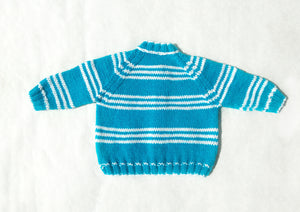 Vintage Striped Cardigan - Fauves Kids